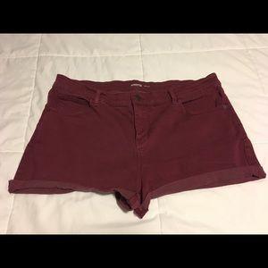 Distressed Boyfriend Jean Cut-Off Shorts for Women
